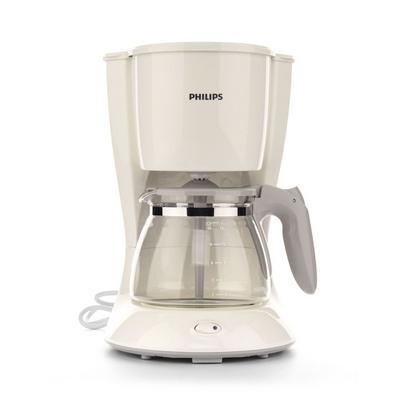 صانعة القهوة دايلي كولكشن بقوة ١٠٠٠ واط وسعة ١.٢ لتر من فيليبس – أبيض (HD7447/00)