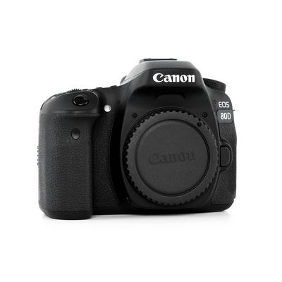 Canon EOS 80D DSLR Camera 24 2mp 7fps - eXtra Saudi