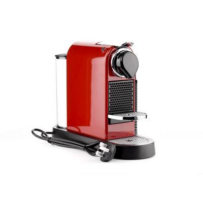 ماكينة صنع القهوة وكابتشينو من نيسبريسو، أحمر وأسود – (C122CR)