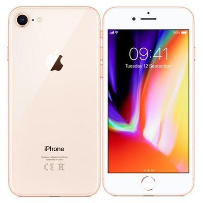 Apple iPhone 8, 64GB, FaceTime, Gold - eXtra Saudi