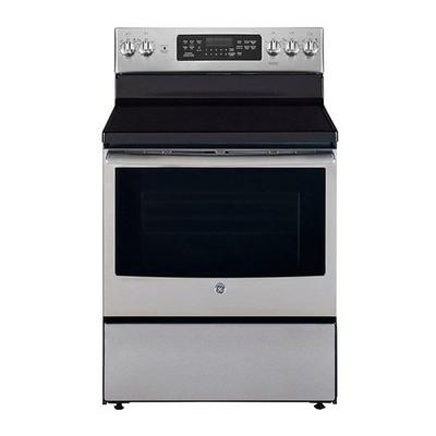 Ge Electric Range 30 Inch 4 Radiant Elements 1 Warming