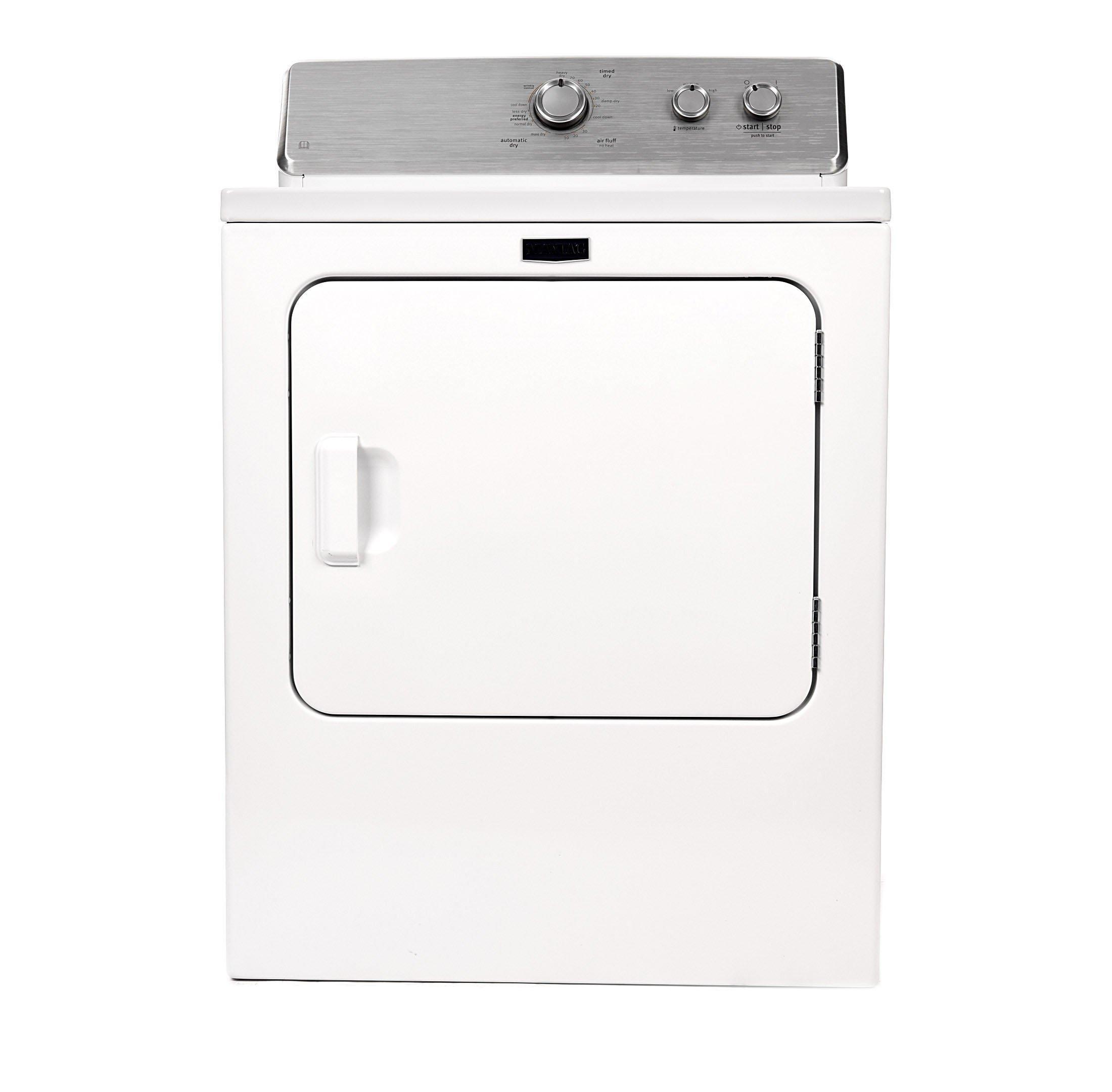 مجفف ملابس تحميل علوي بسعة 7 كجم 4KMEDC420JW أبيض