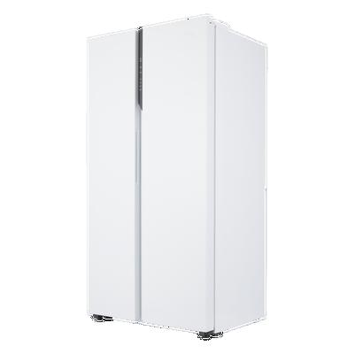 هاير ثلاجة باب جانب باب، 17.8 قدم،504 لتر، أبيض
