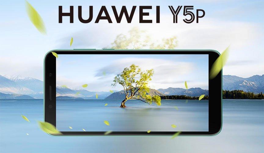 Huawei Y5P, 32GB, Phantom Blue - eXtra Oman