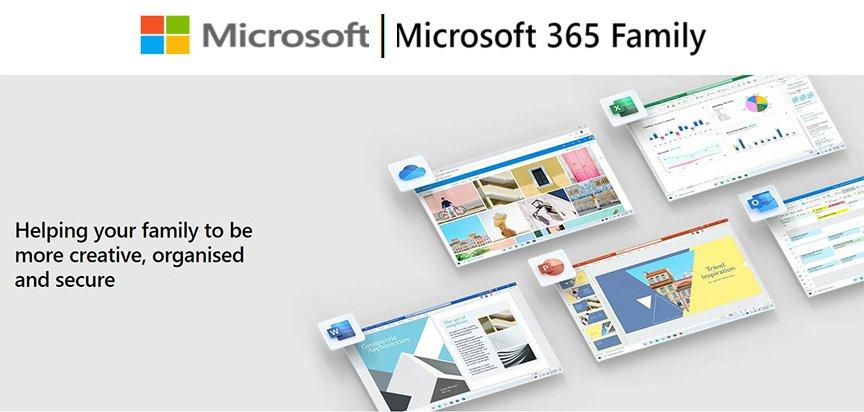 Microsoft 365 Family ِAll Languages Subscription 1YR - 6GQ-00085 5