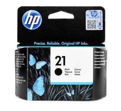 HP 21 BLACK INKJET CARTRIDGE