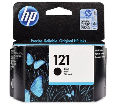 HP 121 BLACK INK CATRIDGE