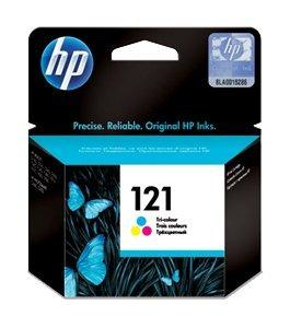 HP 121 TRI-COLOR INK CATRIDGE