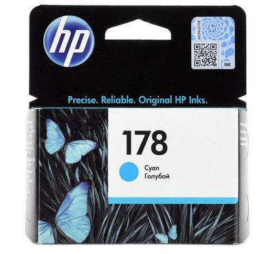 HP 178 Cyan Ink Cartridge