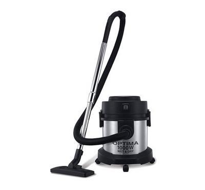 Optima Vacuum Cleaner, Wet & Dry, 15 L, 1200W, Silver/Black
