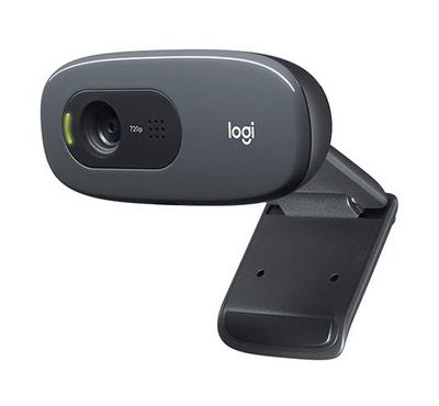 LOGITECH WEBCAM C270 HD 720P, 3MP - PHOTOS,MONO MICROPHONE