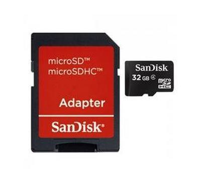 SANDISK MICROSDHC 32GB MOBILE MEMORY CARD