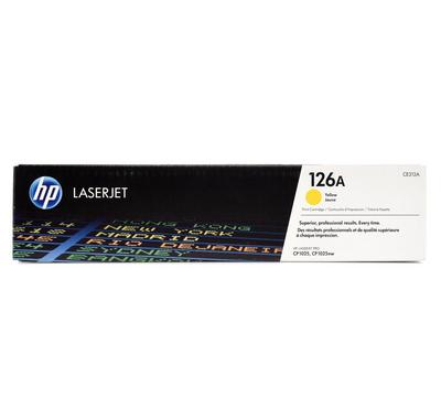 HP 126A Yellow LaserJet Print Cartridge