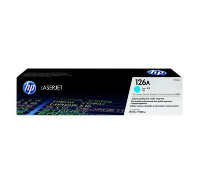 HP 126A CYAN LASERJET PRINT CARTRIDGE