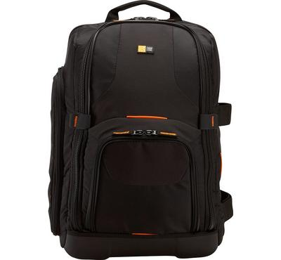 Case Logic DSLR Camera Laptop Backpack Bag Nylon Black