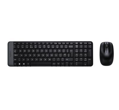 لوجيتك، لوحة مفاتيح و فأرة، لاسلكية، أسود