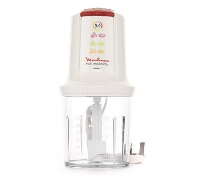 Moulinex, Mini Chopper, 500 W, 500 ml ,White