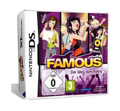 Nintendo DS Famous Video Game