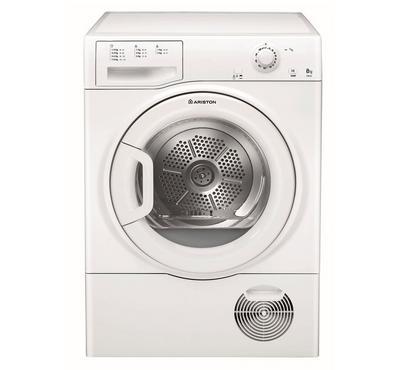 أريستون نشافة ملابس، 8 كيلو، نظام المكثف، أبيض