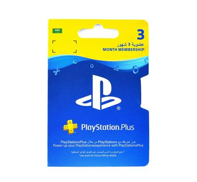Playstation Plus 90-Day Subscription