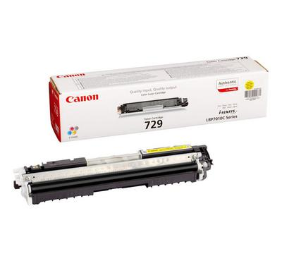 Canon 729Y Laser Toner Yellow