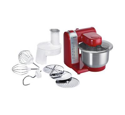 Bosch Kitchen Machine,600W,Red