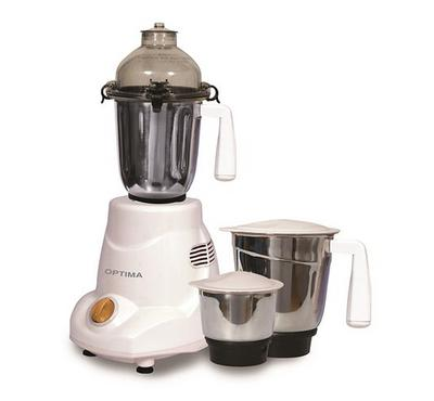 Optima, Mixer Grinder, 600W, Cream