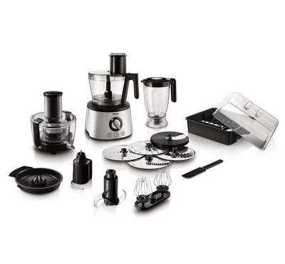 Philips, 1300W, Food Processor, Silver
