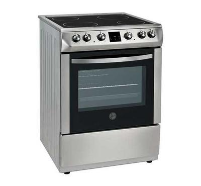 Hoover 60x60 Cooking Range VetroCeramic Stainless Steel