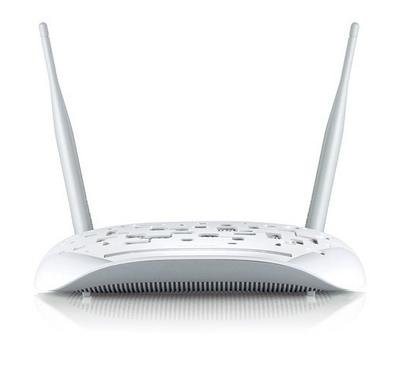 TP-LINK 300Mbps Wireless N USB ADSL2 plus Modem Router White