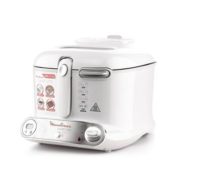 MOULINEX Deep Fryer Super Uno, 1.5kg,1800W,White