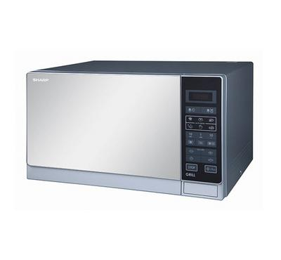 Sharp Microwave with Grill, 34L,1000W, Silver