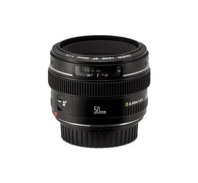 Canon EF 50mm f 1.4 USM Standard