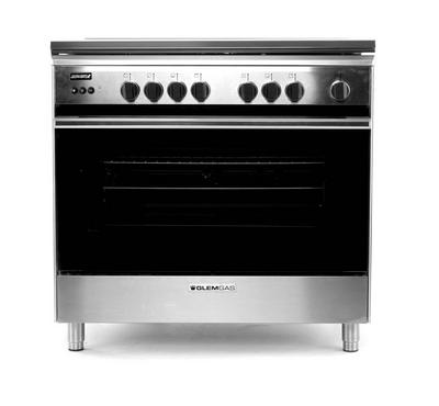 Glem Gas Freestanding Cooker 90X60cm 5Gas Burners