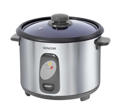 Sencor 1.8L Rice Cooker 700W Stainless Steel.