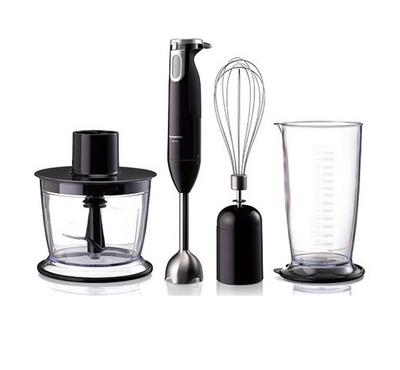 Panasonic Hand Blender with Chopper 600W Black
