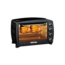Geepas Electric Oven Toaster w/ Grill 42L 1500W Black