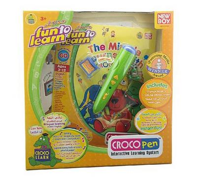 Hasbro Fun To Learn Croco Pen Starter kit