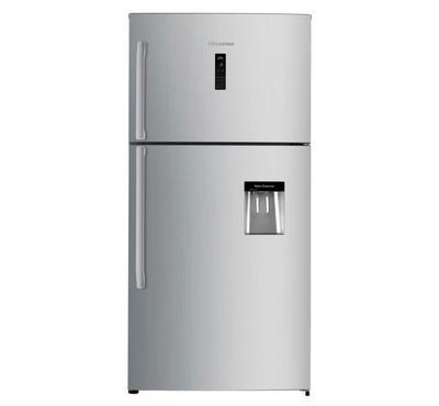 Hisense 715L 2 Door Refrigerator, Net Capacity 550L, Stainless steel,