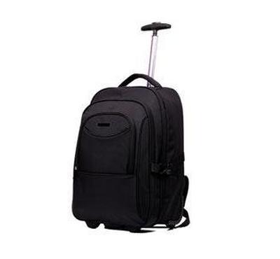 "Lavvento 15.6"" Laptop trolley backpack, Black"