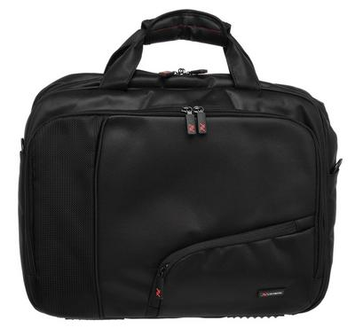 Lavvento Office Bag Fit Up to 15.6 Inch, Black