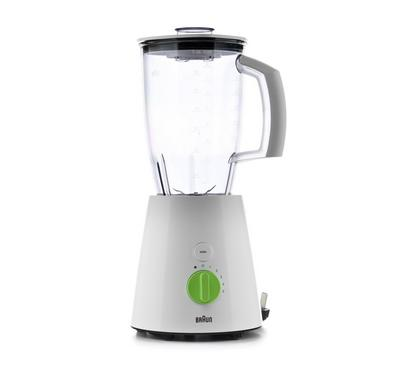 Braun, Blender, 800W, 5 Speed, White