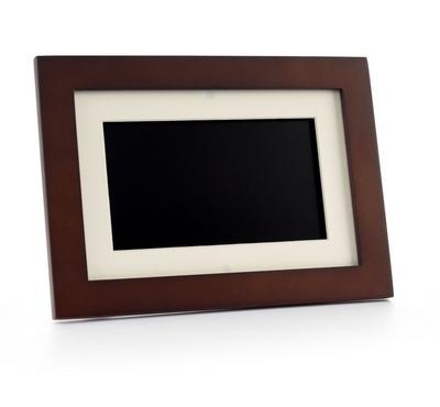 "Pandigital 7"" Digital Photo Frame Wooden"