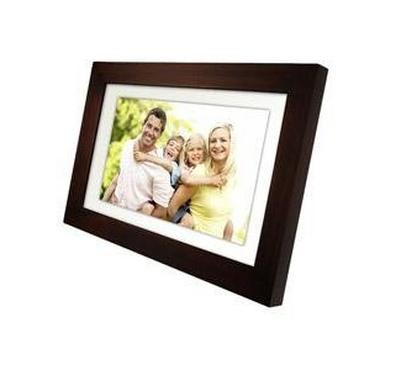 "Pandigital 10.1"" Digital Photo Frame Wooden"