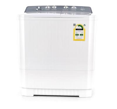 LG Twin Tub Semi Automatic Washing Machine, 8kg, Jet Pulsator, White
