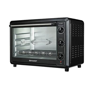 Sharp Electric Oven Toaster Convection 60L 1800W Black