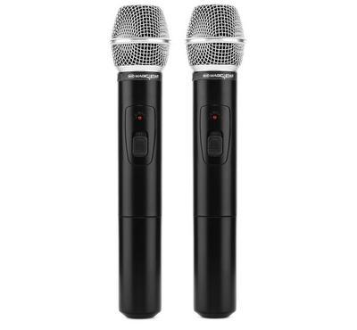 Magic Star Professional VHF Wireless Microphone Black