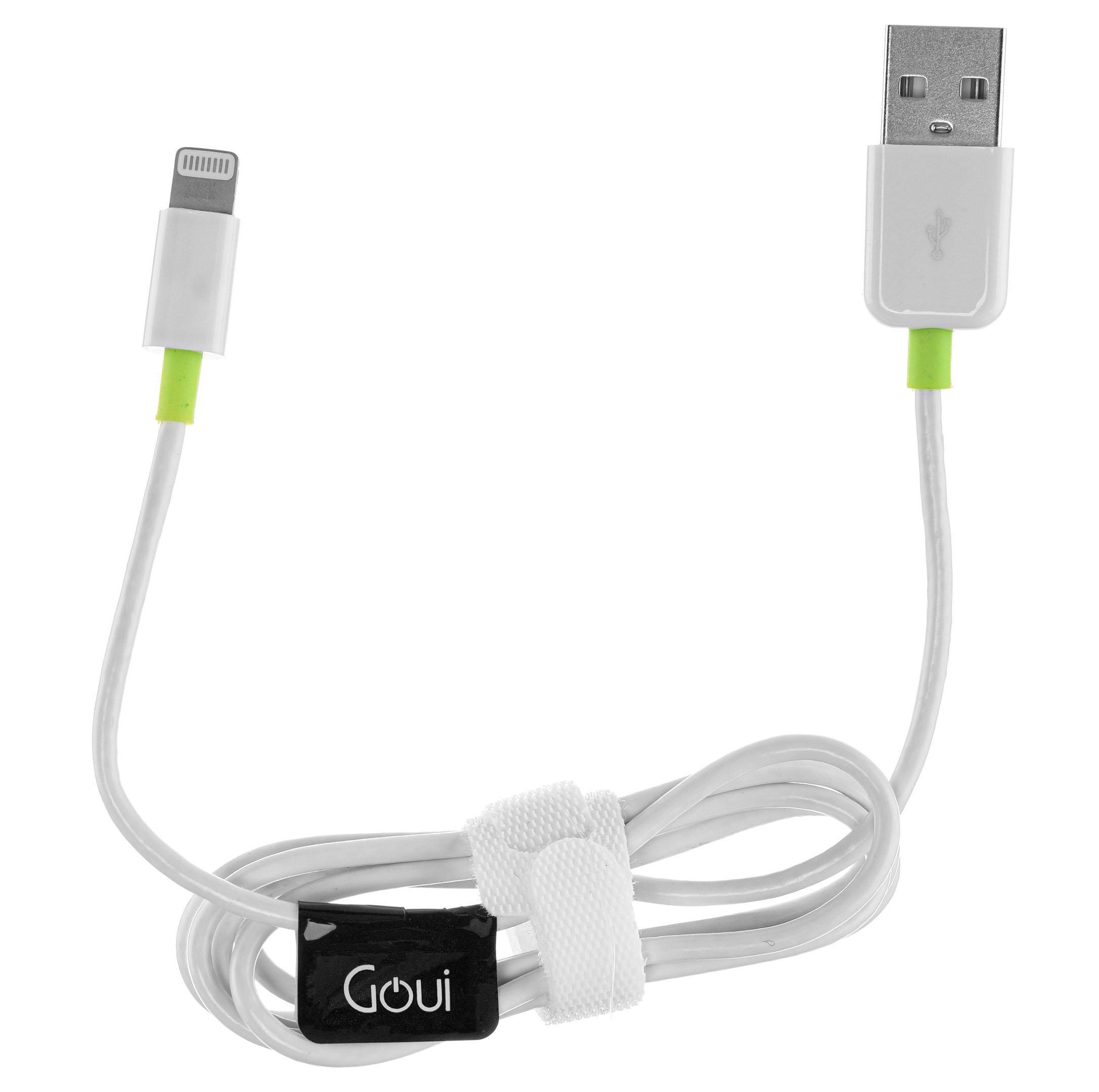 Goui Lightning USB Cable, White