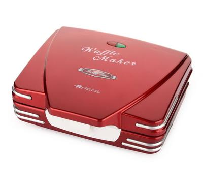 Ariete Waffle Maker 700 W, Red