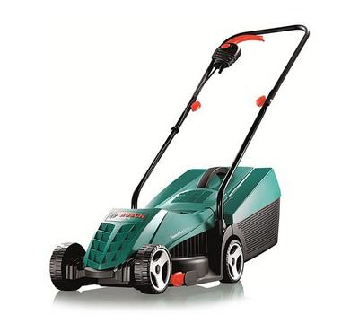 Bosch Electric Rotary Lawnmower with 32cm Cutting Width